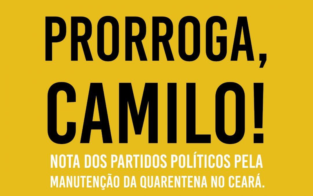 Nota dos Partidos Políticos sobre a crise do covid-19