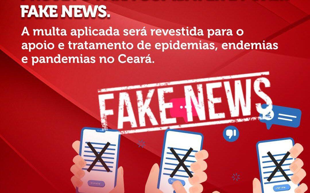 Deputada Augusta Brito apresenta projeto para combater e punir fake news