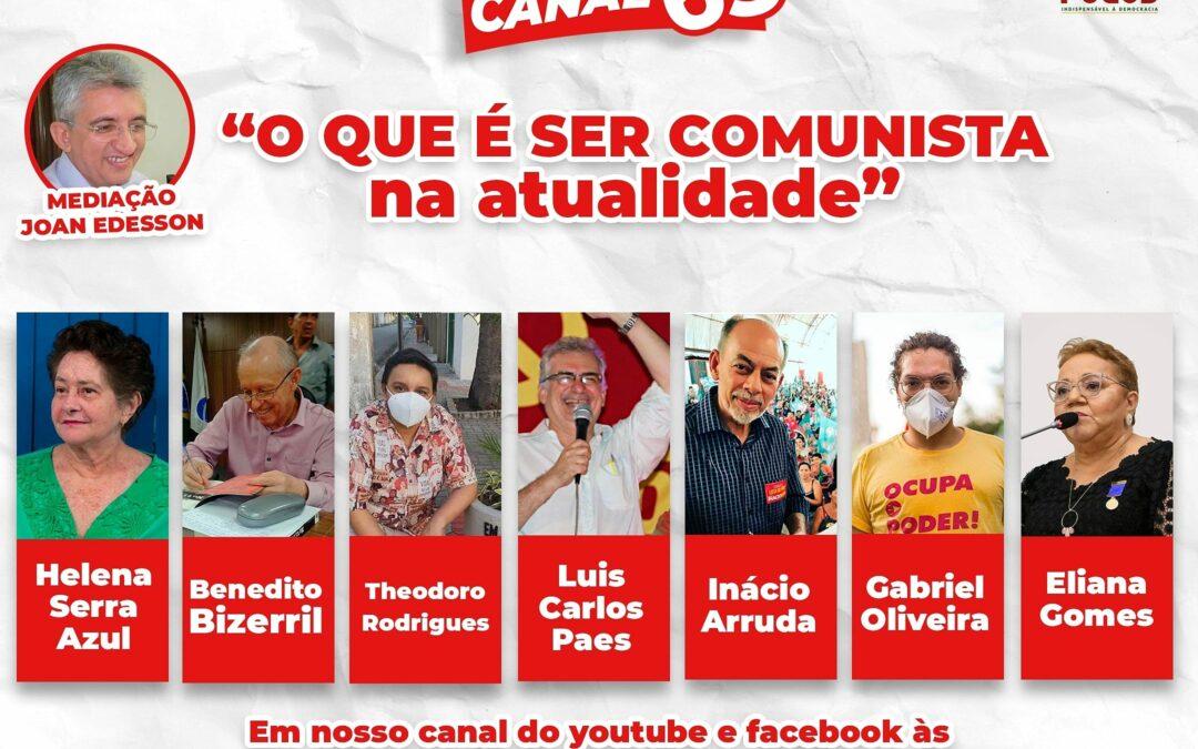 PCdoB Ceará estreia programa semanal na web