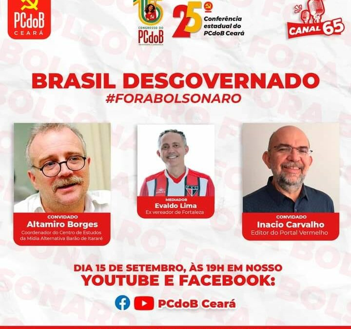 Canal65 debate desgoverno Bolsonaro